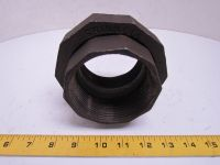 """Grinnell 3"""" NPT Class 150 Malleable Iron Black Pipe Union ..."""