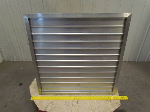 Motorized Dampers And Louvers - Year of Clean Water