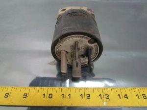 Hubbell 8451C 50A 3Ph 250VAC 3 Pole 4 Wire NEMA 1550P