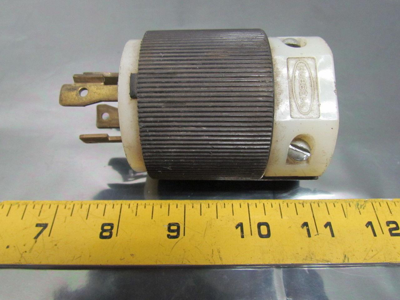 Hubbell 231a 30a 600vac 3 Pole 4 Wire Nema L1730 Twist Lock Connector