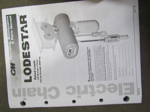 small resolution of cm lodestar hoist wiring diagram cm image wiring cm lodestar j new 1 2 ton electric