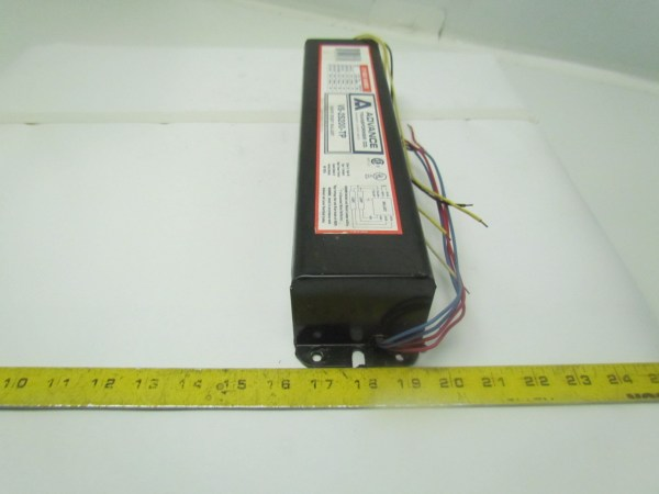 sylvania ballast wiring diagram · 2 lamp rapid start ballast
