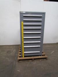 Vidmar Stanley 9 Drawer Steel Industrial Tool Parts ...