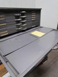 Hamilton Flat File Blueprint Plans Map Art Architect ...