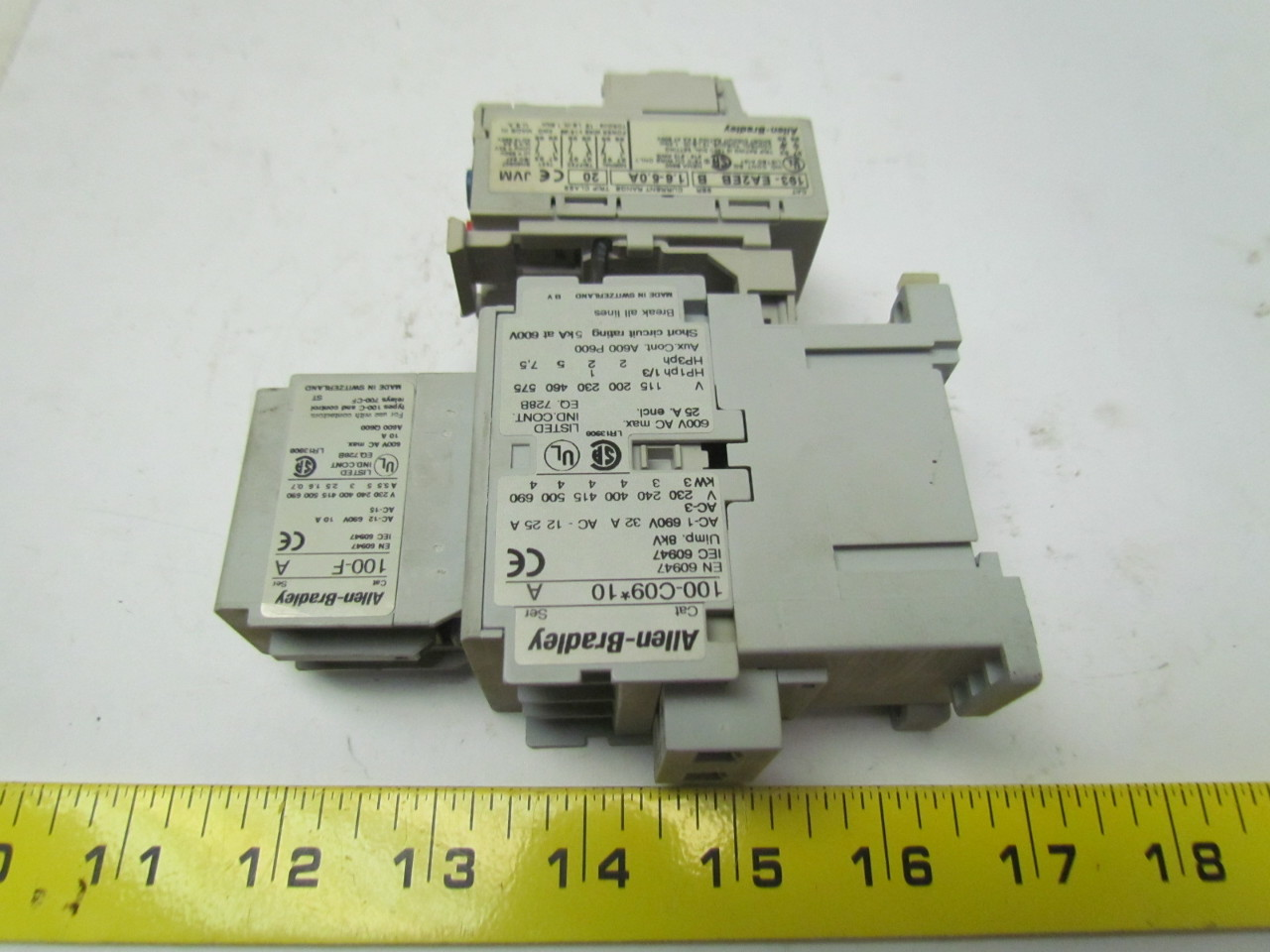 wiring diagram for contactor and overload dometic rv fridge allen bradley 100 c09 10 3 pole w 193 ea2eb