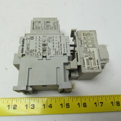 Wiring Diagram For Contactor And Overload Frog Anatomy Digestive System Allen Bradley 100 C09 10 3 Pole W 193 Ea2eb