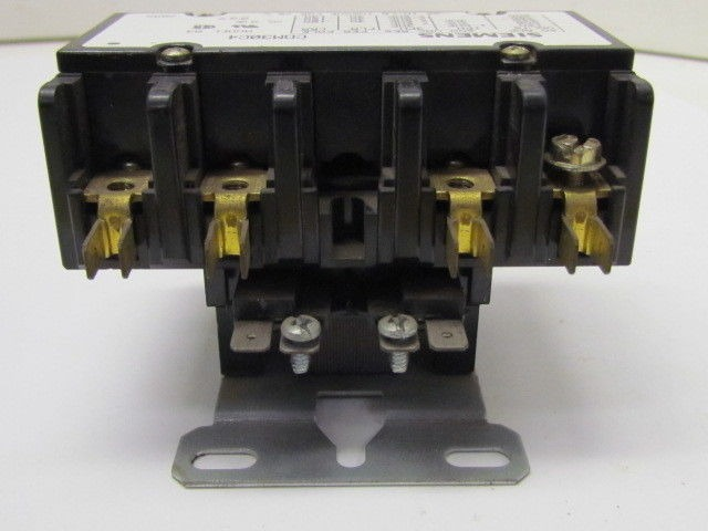 √ Sie CDM30C4 Model 93 24vac Coil Contactor 4 Icp Air Handler Wiring Diagram Without Contactor on