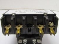 Siemens CDM30C4 Model 93 24vac Coil Contactor 4-Pole ...