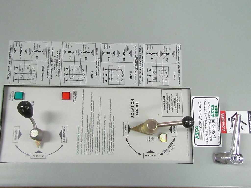 Automatictransferswitch Details About Asco 7000 Series Automatic