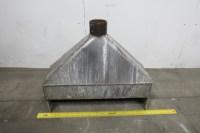 """34"""" Hood Stainless Steel Fume Exhaust Hood Vent Vacuum"""