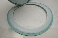 "Garlock Blue-Gard 6"" Flat Face Ring Gasket W/ Envelope Lot ..."