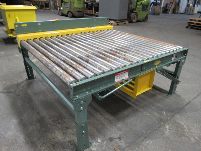 Hytrol Modular Power Roller Case Conveyor 50W X 60L X 24