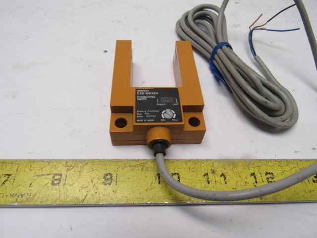 New Omron Photoelectric Switch Sensor E3sgs3e4 E3sgs3e4 2m 1224 Vdc