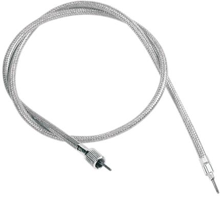 Drag Specialties Stainless steel Speedo Speedometer Cable