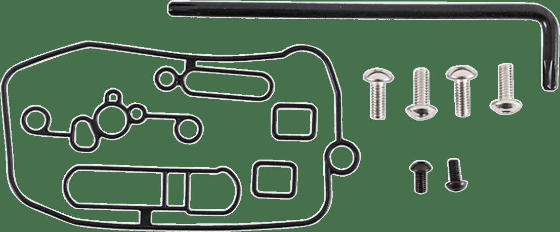 Moose Racing Carburetor Mid Body Gasket Kit for 03-17