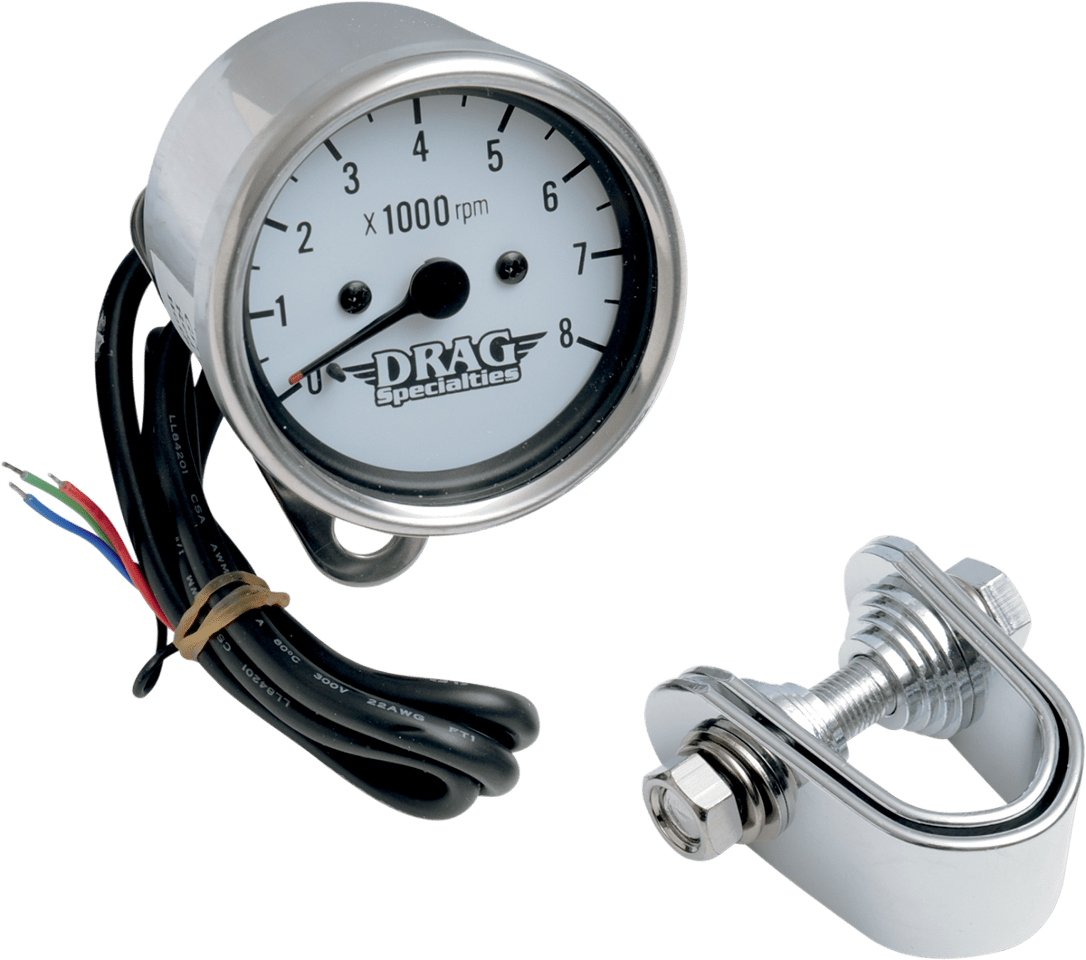 harley davidson tachometer wiring diagram 7 pin round trailer contemporary connector elaboration drag specialties 8000 rpm chrome electronic 2 4