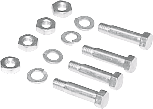 Colony Silver Floorboard Mounting Hardware kit for 49-81