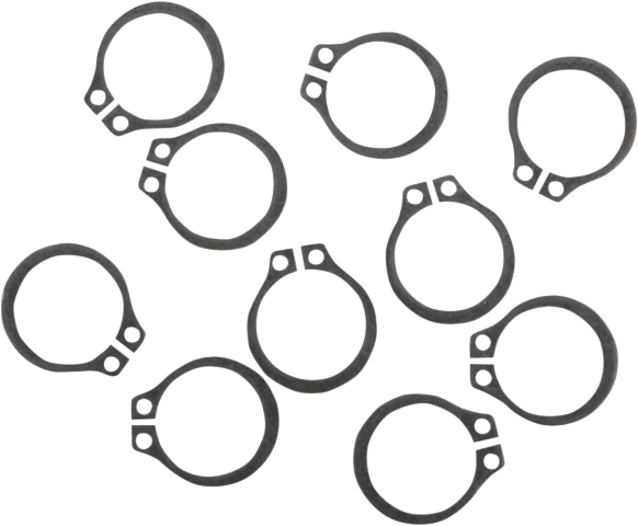 Eastern 10 Pack Oil Pump Retainer Snap Rings for 54-05