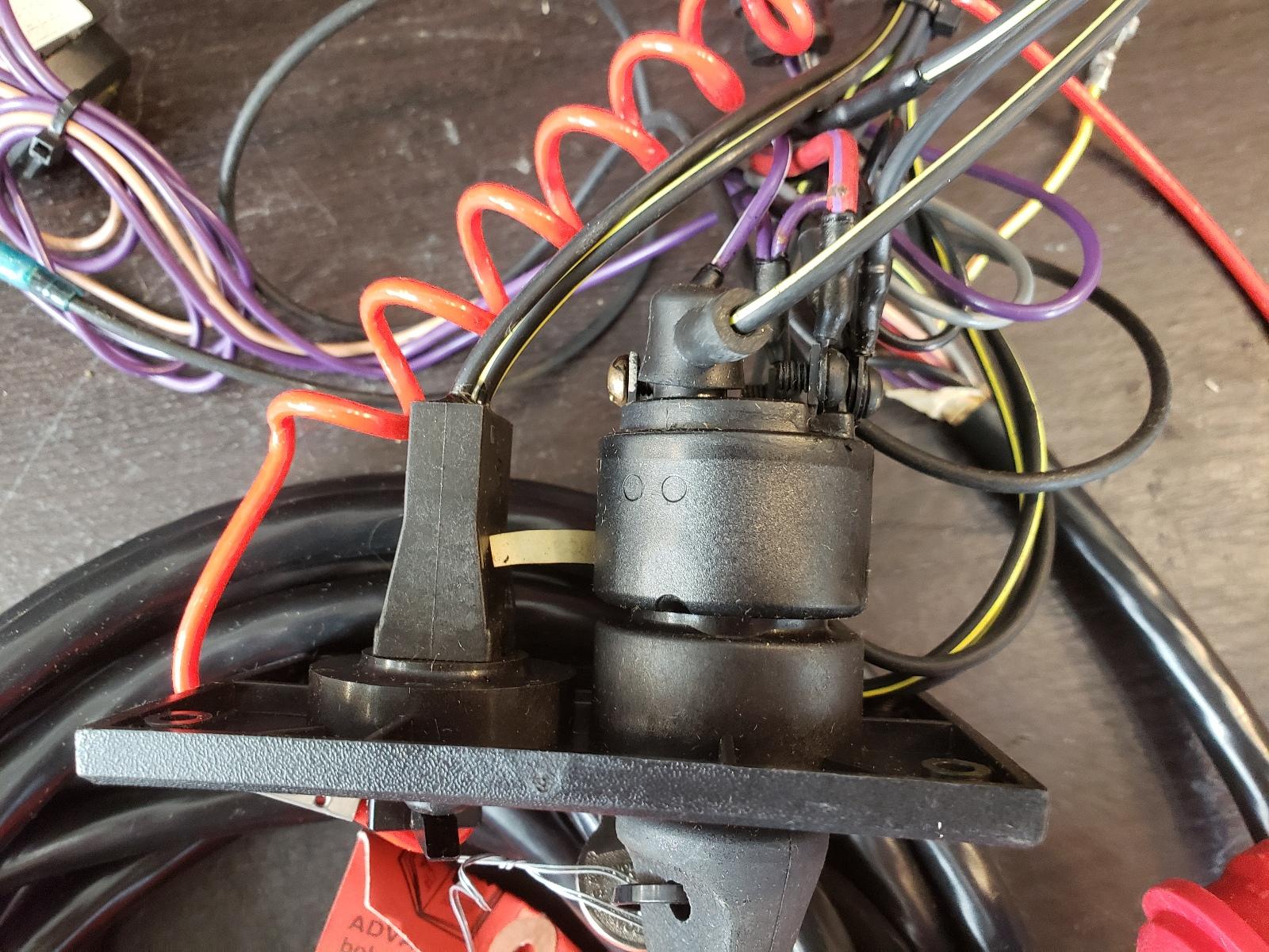 hight resolution of  174960 johnson evinrude 1990 1995 single engine wiring kit new old stock