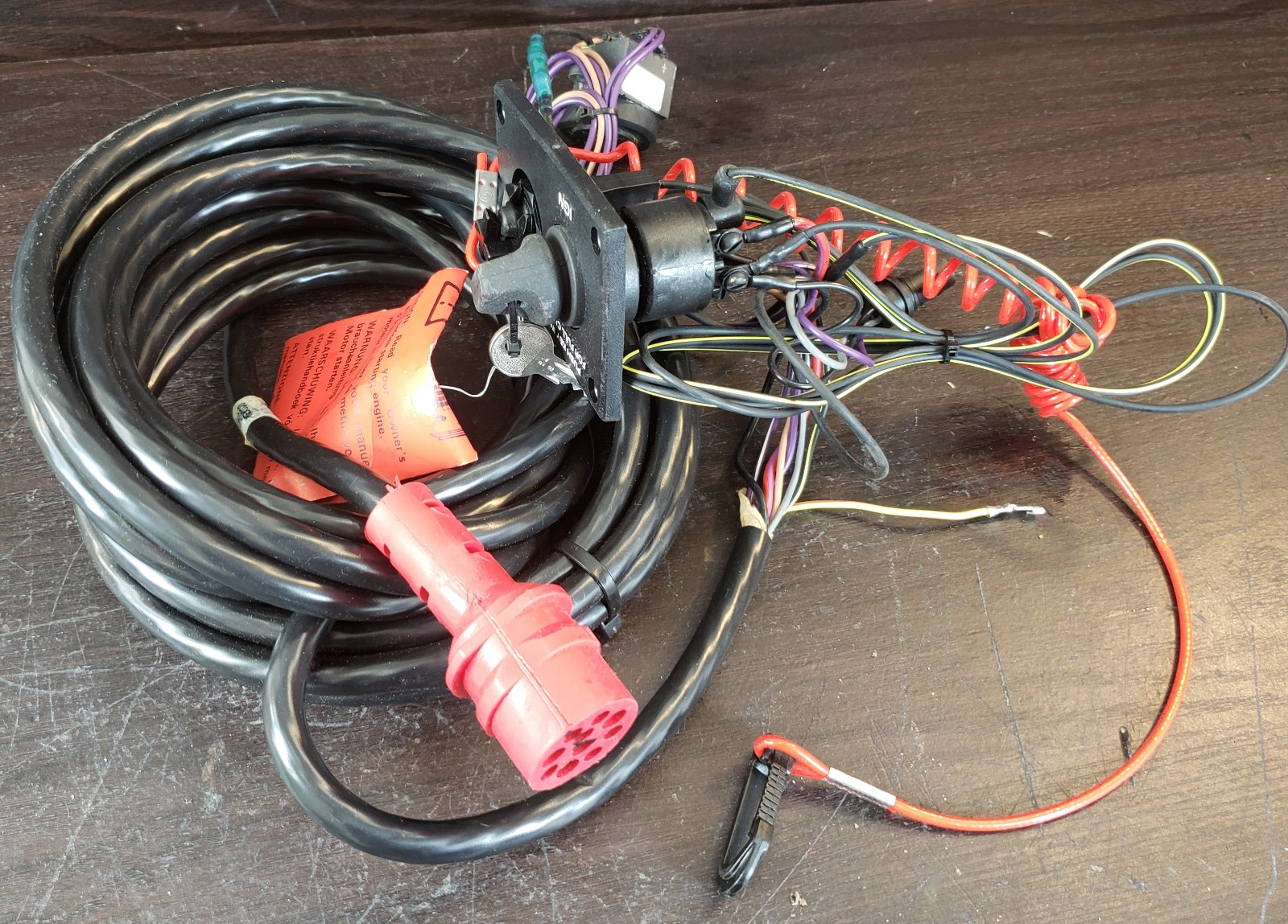 hight resolution of 174960 johnson evinrude 1990 1995 single engine wiring kit new old stock southcentral outboards