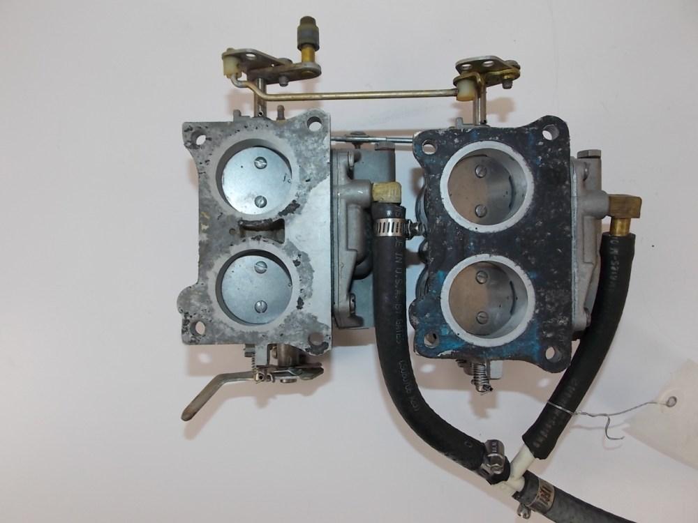 medium resolution of johnson evinrude carburetor assembly 1978 85 hp 388860 388861 85hp
