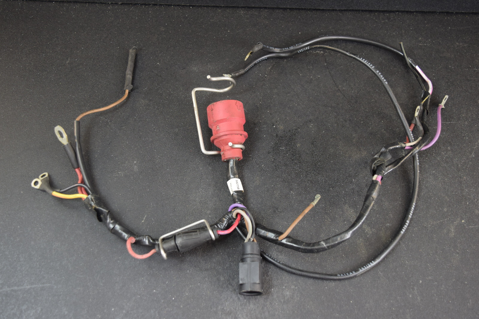 hight resolution of 1986 1987 johnson evinrude wiring harness 582756 65 70 hp trailer wiring harness 4 plug wiring