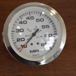 Teleflex Marine Gauges Wiring Diagram 125cc Quad Bike New Lido Boat Speedometer Gauge 59713