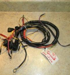 mercury outboard wiring harness 98422a4 1986 1988 120 marine trailer wiring harness boat wiring harness color [ 1024 x 768 Pixel ]
