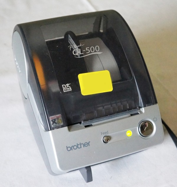 Brother Touch Ql 500 Manual Cut Pc Label Printing System Power Cable 012502610502