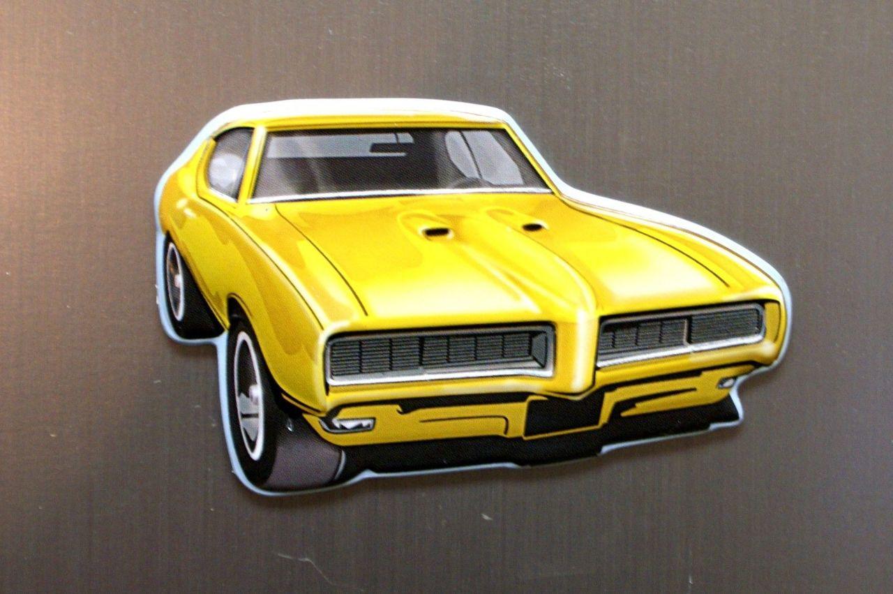 medium resolution of pontiac gto refrigerator fridge magnet muscle car drag race 1975 b9