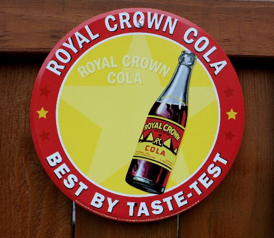 keen kitchen shoes hansgrohe faucet reviews royal crown rc cola tin metal round bottle sign soda pop ...