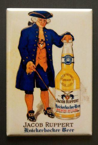 Jacob Ruppert Knickerbocker Beer Refrigerator Fridge