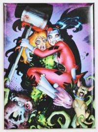 Harley Quinn Poison Ivy FRIDGE MAGNET DC Comics Joker ...
