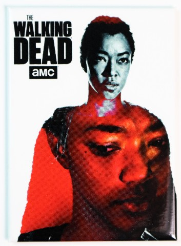 The Walking Dead Sasha Williams Fridge Magnet Abraham Ford