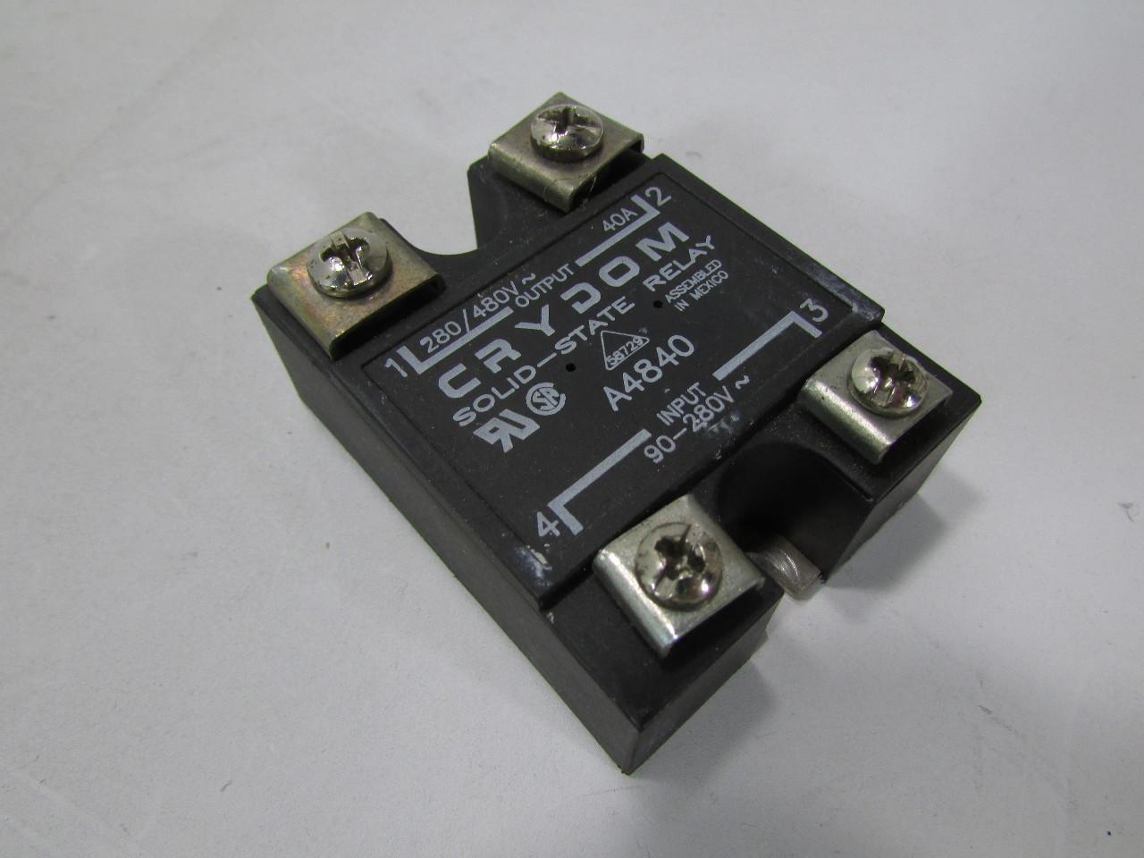 Crydom Solid State Relay A I V O 280 480