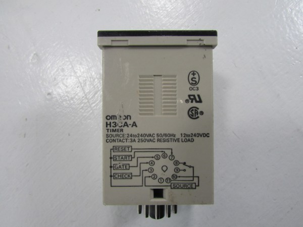 Omron H3ca- Solid State Timer Premier Equipment