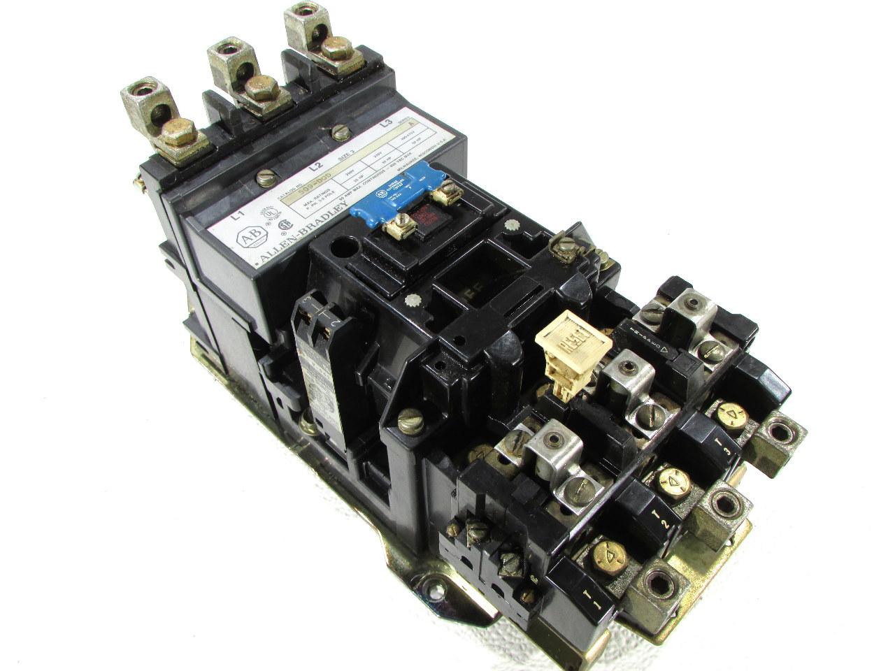 Allen Bradley 509 Dod Size 3 Motor Starter Coil 115 120