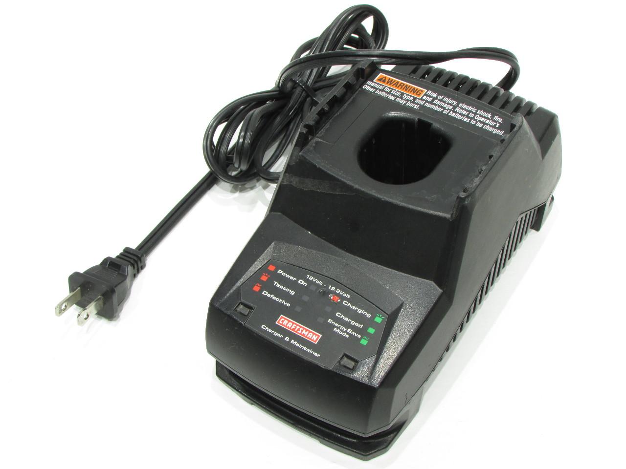 Craftsman 192 Volt Battery Charger Manual