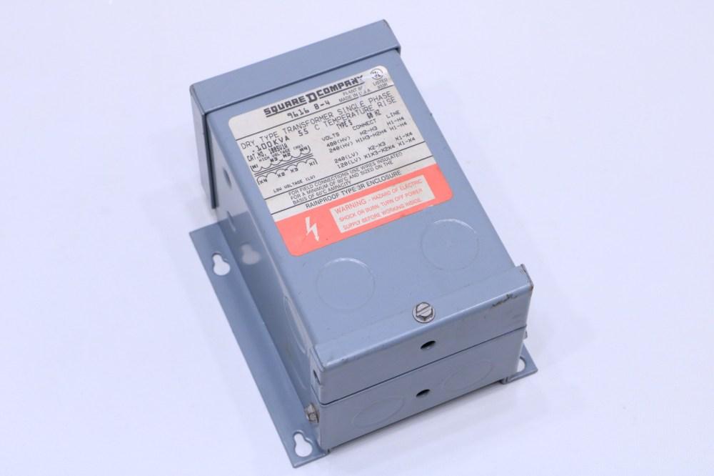 medium resolution of new square d 100sv1a xfmr dry 1 ph 1kva 240x480v 120 240v dry transformer single phase