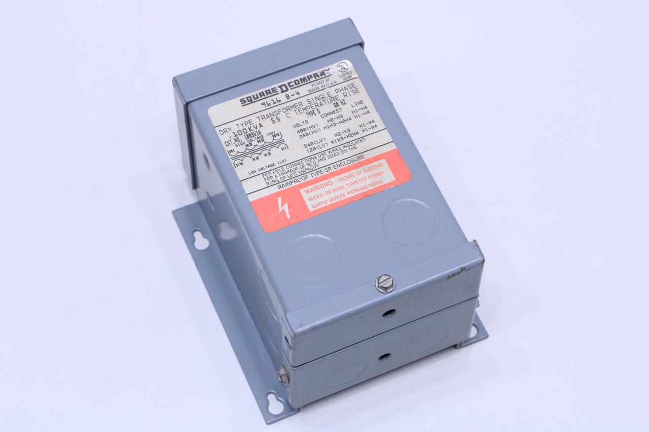 hight resolution of new square d 100sv1a xfmr dry 1 ph 1kva 240x480v 120 240v dry transformer single phase