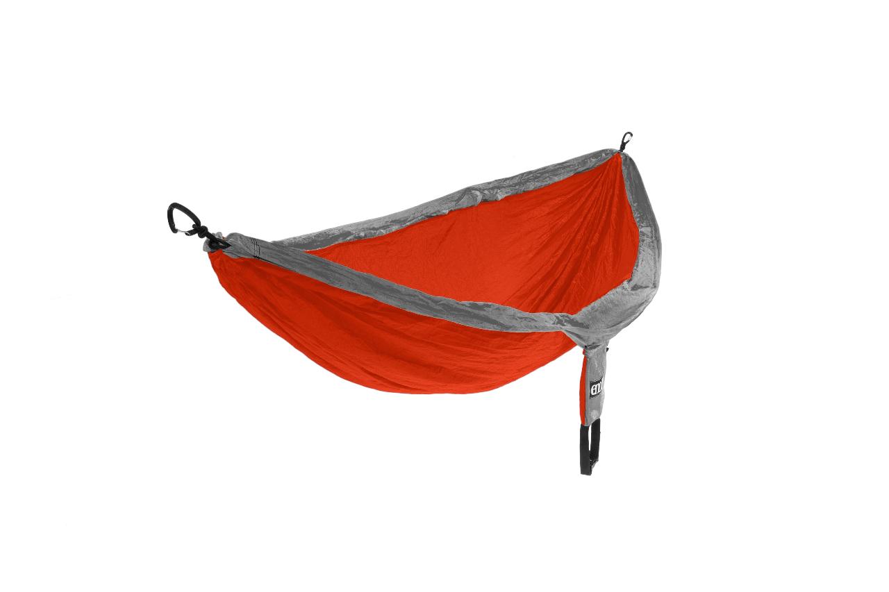 Eagles Nest Outfitters Eno Doublenest Hammock Orange Grey