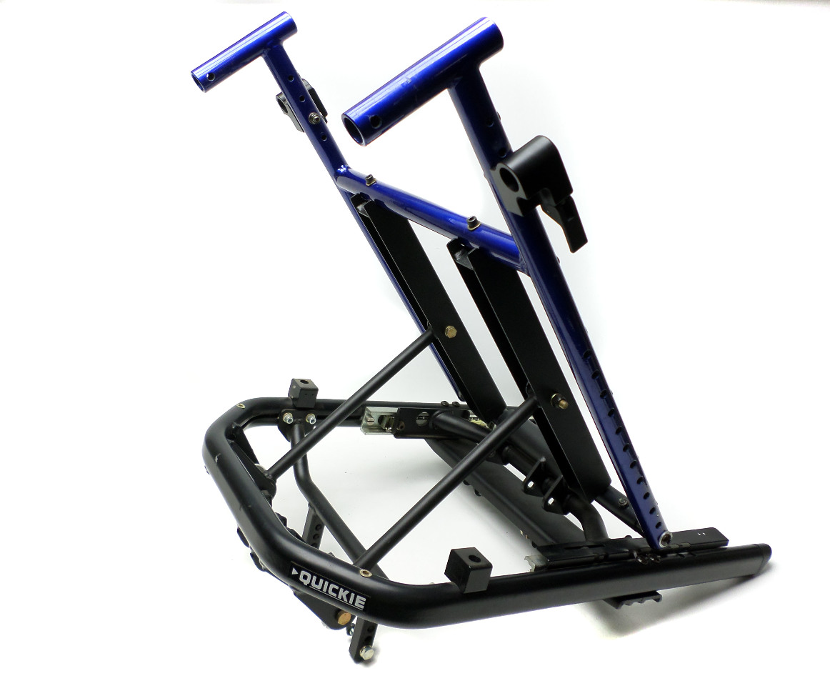 wheelchair ebay inexpensive folding chairs quickie tilt seat frame assembly 16 quot sunrise