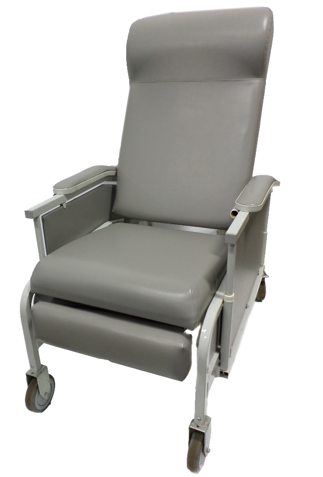 Winco Drop Arm Convalescent Transfer Recliner  Model 527