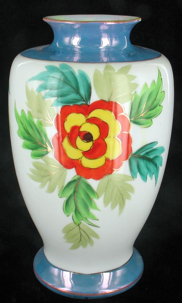 Antique Nippon Moriage Vase