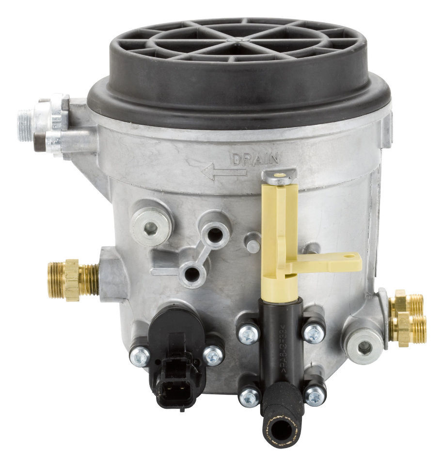 hight resolution of 1998 5 2003 7 3l ford power stroke fuel filter housing assembly alliant power
