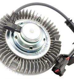 2003 2010 6 0l ford power stroke fan clutch alliant power ap63430 [ 1170 x 960 Pixel ]
