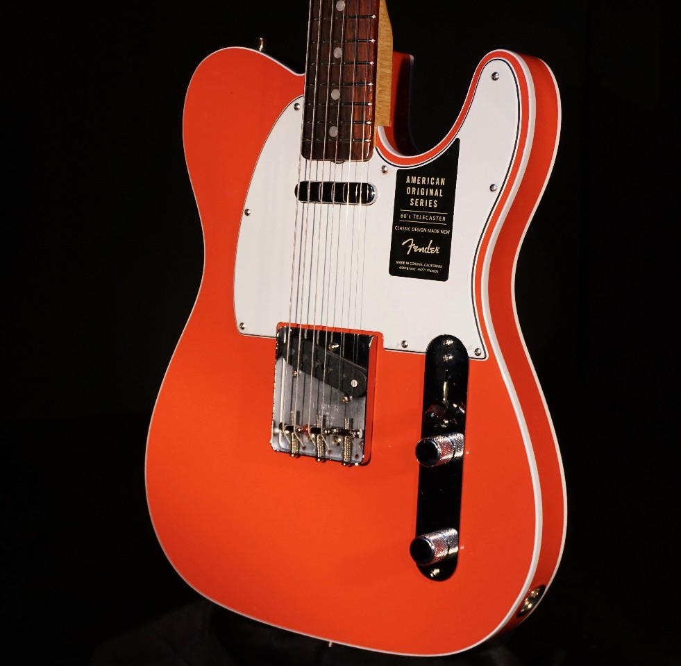 hight resolution of fender american original 60 s telecaster fiesta red 2018 w hardshell streetsoundsnyc