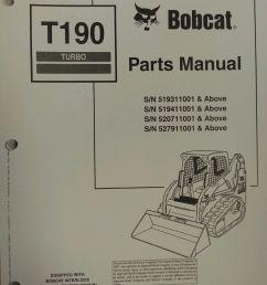 bobcat t190 track loader service repair workshop manual [ 900 x 1200 Pixel ]