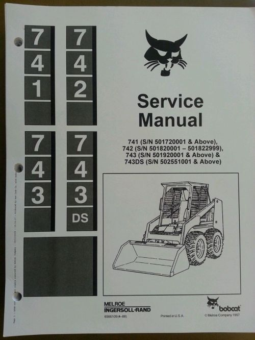 small resolution of bobcat 853 853h skid steer plete shop service manual steers tennessee steers help hydraulic block diagram today get shipping find new or used equipment