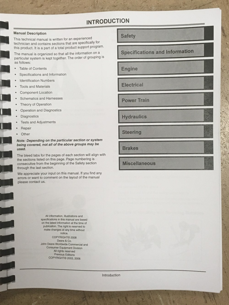 medium resolution of  john deere 2210 tractor technical manual tm2074 jd book